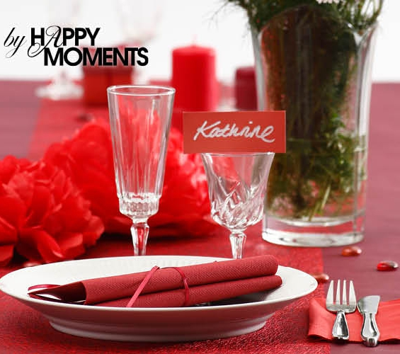 Collection rouge Happy Moments
