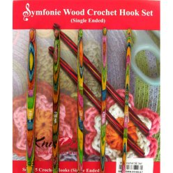 kit symphonie set de crochets simple pointes knit pro