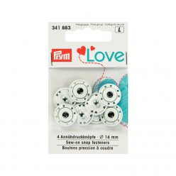 bouton presion a coudre love 16 mm