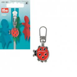 tirette fashion zipper coccinelle metal