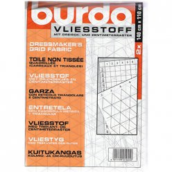 toile non tissee quadrillee carreaux et triangles burda 2f
