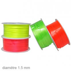 25 m de queue de souris fluo 15 mm