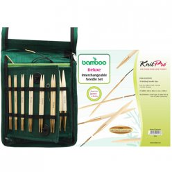 kit deluxe aiguilles interchangeables bamboo