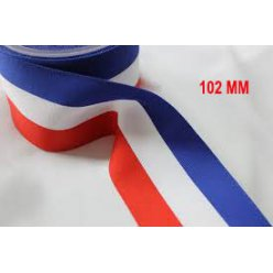 ruban tricolor large 102 mm x25 m