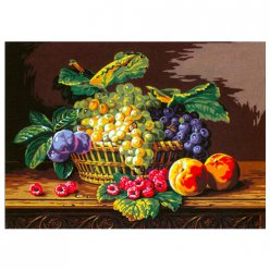 canevas antique nature morte  45x60cm