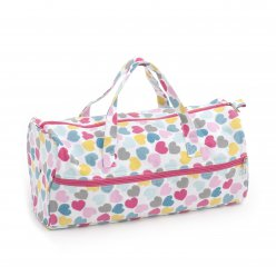 sac a ouvrage tricot 42x15x175 cm love