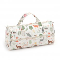 sac a ouvrage tricot 42x15x175 cm woodland