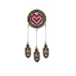 kitbroderie diamant enfant sur bois  dream catcher cur