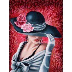 diamond painting 40x30  elegance