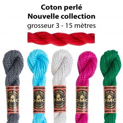 coton perle dmc art 115a n3 nouvelle collection  echevette de 15m