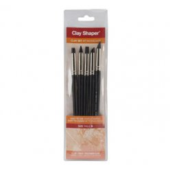 clay shaper n6 extra ferme  5 pointes assorties