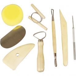 set instruments de modelage 8 pieces