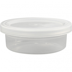 pots en plastique 45 ml lot de 20 pieces