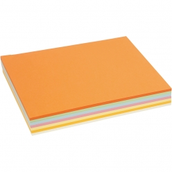 carton pastel a4 assortiment 210 pieces