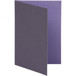 carte pliee 105x15 cm 10 pieces bicolore lilas