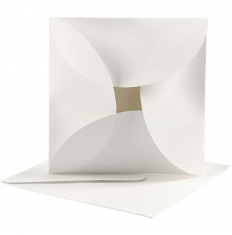 cartes de pliage 125x125 cm 10 sets