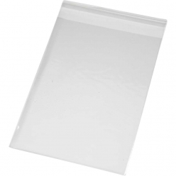 sachets cellophane 125x175 cm lot de 200 pieces