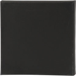 chassis artistline 30x30 cm noir lot de 10 pieces
