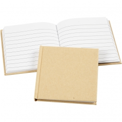 cahier de notes a decorer 10x10 cm