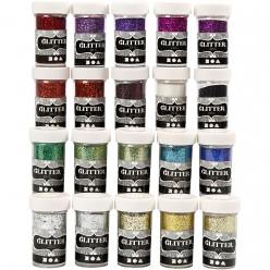 paillettes assortiment 20x20 gr