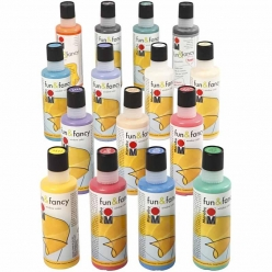 Window color Fun&Fancy 15x80ml Assortiment