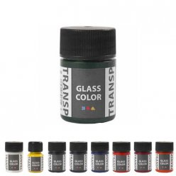 peinture glass color transparente 35 ml