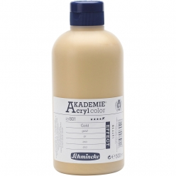 flacon de 500ml schmincke akademie acryl color