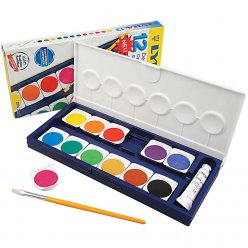 set aquarelle enfant lyra