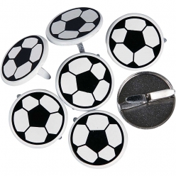 attaches parisiennes football 20 mm 30 pieces