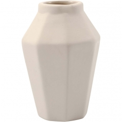 vase porcelaine mate 10 cm 6 pieces