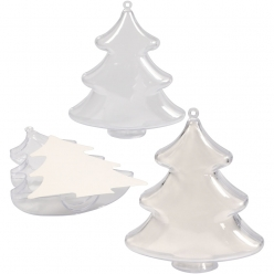 sapins en plastique a insert lot de 5 pieces