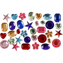 pierre de strass assortiment 10  15 mm