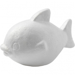poisson en polystyrene 12 cm 25 pieces