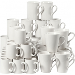 tasses en porcelaine 7  10 cm assortiment 48 pieces