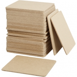 sous  plat 10x10 cm lot de 50 pieces