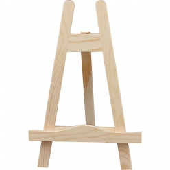 mini chevalet de table en bois 25 cm
