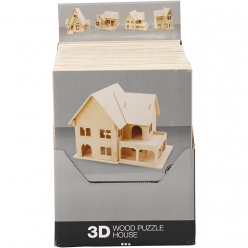 kit de construction 3d en bois