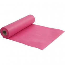 chemin de table papier rose fuchsia 35 cm 10 m