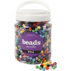 perles pony 8mm assortiment 700 ml