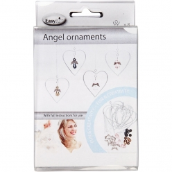 kit creation ornements ange en perles 8 pieces