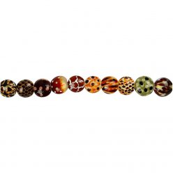 perles animaux 12 mm assortiment 15 pieces