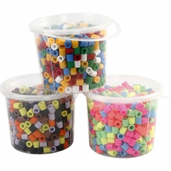 perles a repasser jumbo 10x10 mm assortiment 3x550 pieces