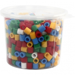 perles a repasser jumbo 10x10mm assortiment de 550 pieces
