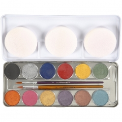 palette de maquillage nacree 12x35ml