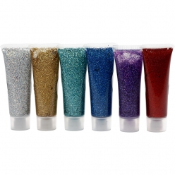 gel scintillant pour maquillage 6x18ml