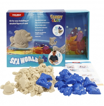 kit animaux marins sandy clay sable a jouer