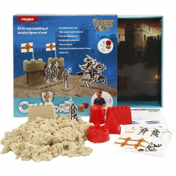 kit sable a jouer sandy clay chateaux
