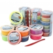 pate a modeler foam clay assortiment 28 boites