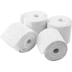 bandes platrees lot de 4 rouleaux