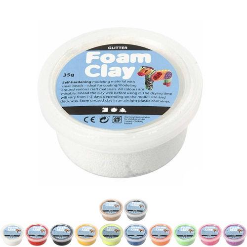 foam clay 35g a la couleur